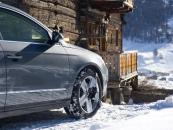 Thule hólánc - K-Summit - Autó kerekére szerelve