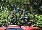 Thule kerékpártartó - FreeRide - autóra szerelve