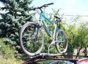 Thule kerékpártartó - ProRide - Autóra szerelve