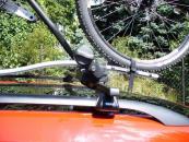 Thule kerékpártartó - ProRide - Kerékpártartó rögzítése