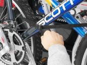 Thule kerékpártartó - Xpress - Rögzítés
